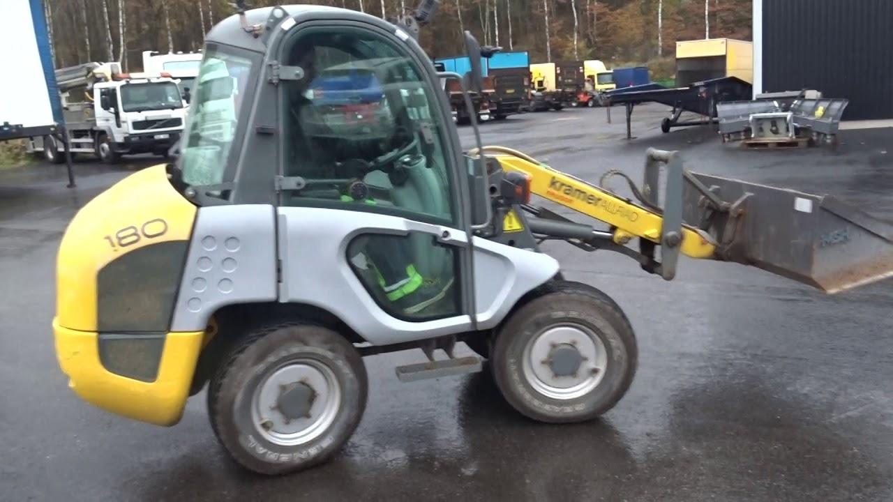 Lieblings Kramer Allrad Neuson 180 Hjullastare med vikplog, skopa #BP_36