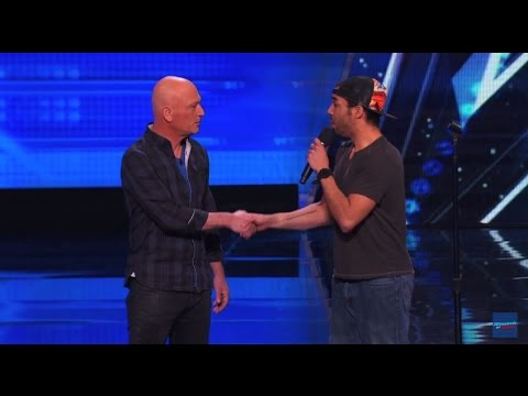 Shocking Audition By Chris Jones, He Makes Howie Hypnotized America's Got Talent 2015