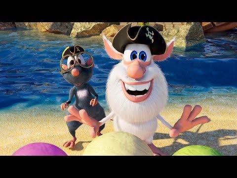 Booba - Ep #42 - Pirate Golf 🏴☠️ - Funny Cartoons For Kids - Booba ToonsTV