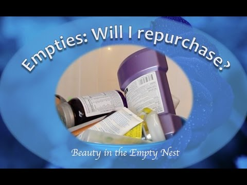 Empties and Will I Repurchase? | February 2016