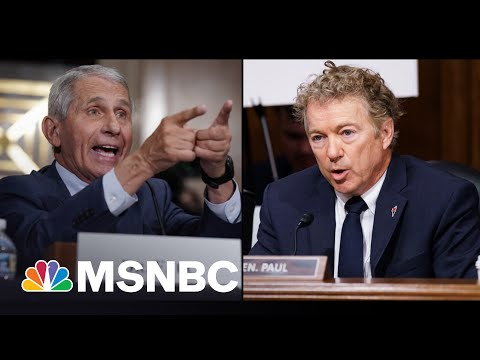 Rand Paul Threatens Fauci With Criminal Referral After Heated Clash