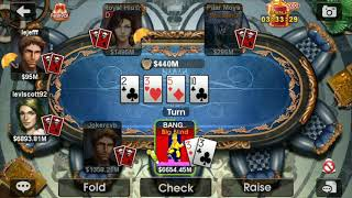 dh Texas poker seas ..big pots..game play