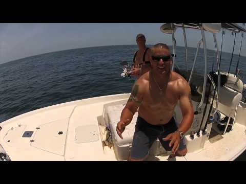 DJI Phantom Offshore Fishing - Galveston, TX 6-21-14