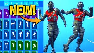 'NEW' STEALTH REFLEX Skin Showcase With Dance Emotes! Fortnite Bataille Royale