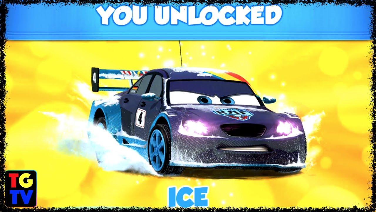 Cars Fast As Lightning Ice Max Schnell Unlocked Vs Pyotr