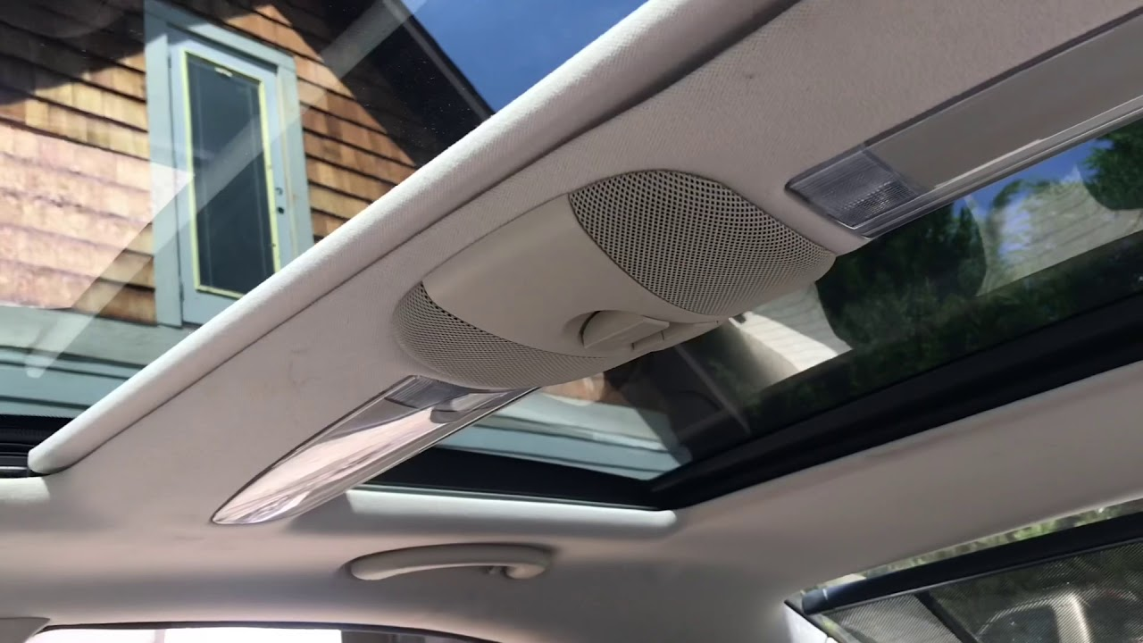 Mercedes Benz E Cl 2003 2009 W211 Reset Sunroof