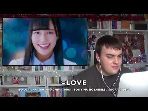[ MV REACTION ] 🇫🇷 FR / ENG SUB 🇬🇧 JPOP | =LOVE  BOKURA NO SEIFUKU CHRISTMAS ( 僕らの制服クリスマス )