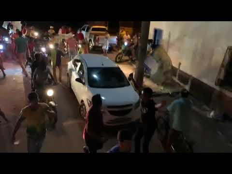 TURILÂNDIA: Em um Ataque de Desespero, Gonzaga Ferraz manda bloquear rua para tumultuar carreata do Grupo Curió.