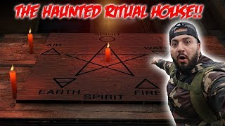 THE HAUNTED RITUAL HOUSE! This House Is So Haunted They Left Everything Behind | MOESARGI