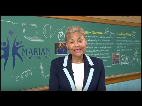 Marian Middle School - A Beautiful Question Compilation