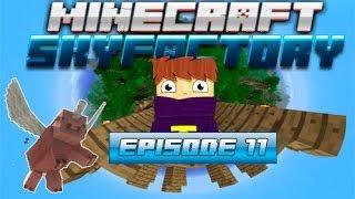 Minecraft - Sky factory #11 - Похід в ПЕКЛО / Шукаємо фортеця / Вдалі блоки [Get Lucky]