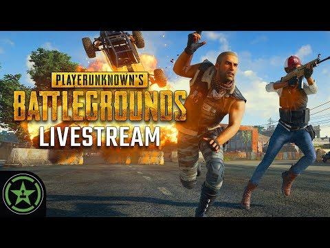 Achievement Hunter Live Stream - PLAYERUNKNOWN'S Battlegrounds: First-Person Servers