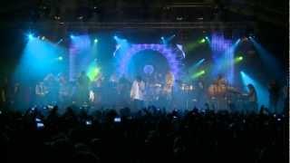 Afro-Latino Festival 2012 Bree (B): Juan Luis Guerra y 4.40 - A pedir su Mano - live