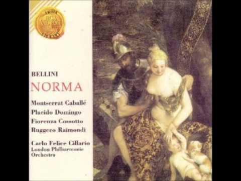 NORMA- CABALLE- DOMINGO- COSSOTTO-RAIMONDI- CILLARIO
