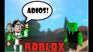 GOODBYE FOREVER SCAMMER!!! 😄 ROBLOX (BOTS)