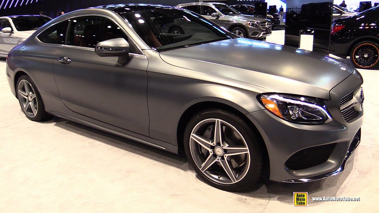 2016 Mercedes C Cl Coupe C300 4matic Exterior And Interior Walkaround Chicago Auto Show You