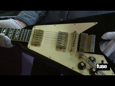 Bieber's Slimed Jacket & Jimi Hendrix's Flying V - Inside the Hard Rock Vault