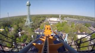 Top 10 Coasters at Kings Dominion 2017 EDITION