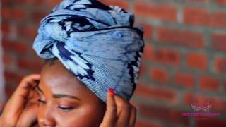 2 Second Turban Tutorial with Cee Cee's Closet NYC