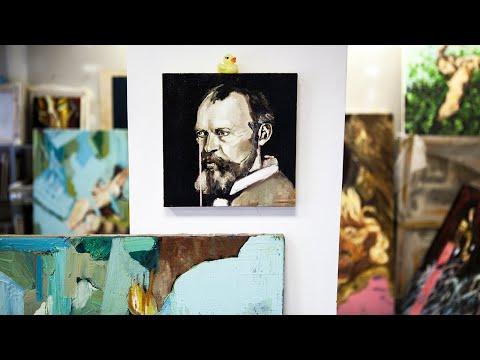 Israeli artist Jonathan Hirschfeld