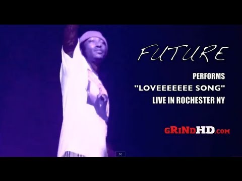 Future Performs LOVEEEEEEE SONG Live In New York
