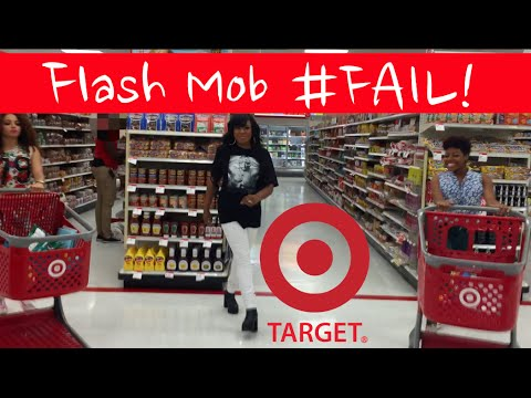 Fifth Harmony Worth It Flash Mob Fail! #FlexandShanice