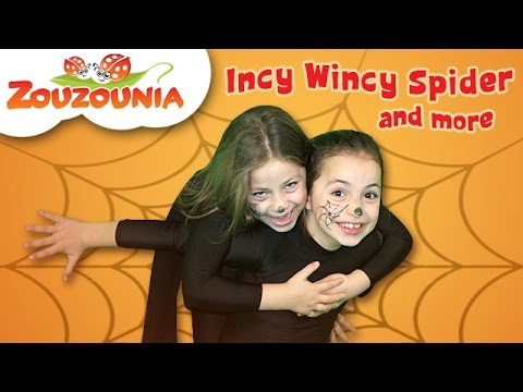 Incy Wincy Spider and More | Nursery Rhymes | Zouzounia feat. Anna Rose & Amanda