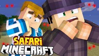 Minecraft SAFARI - ZOSTALIŚMY PORWANI PRZEZ POTWORY! #5
