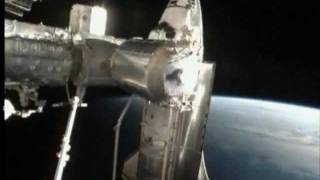 STS-135: Atlantis Rendezvous and Docking (time lapse)