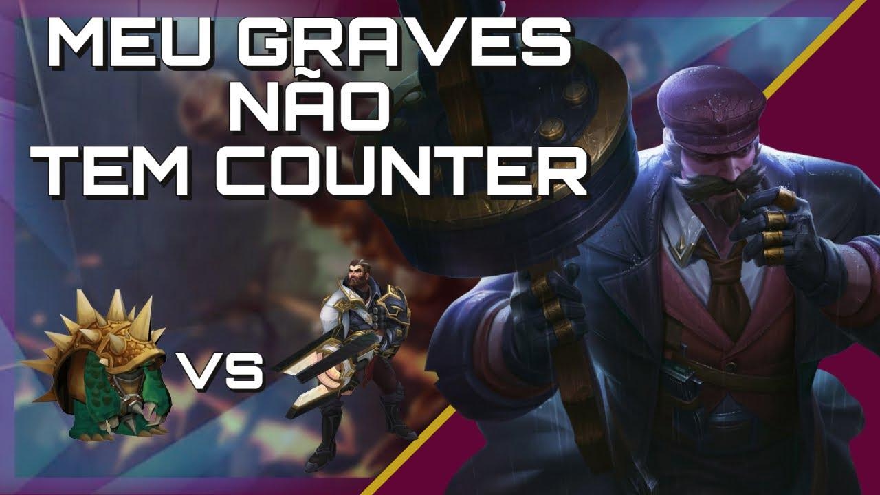 Download GRAVES VS RAMMUS , COUNTERANDO O COUNTER (UNRANKED AO DIAMOND EP 4)
