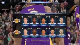 "NBA2K pays tribute to Kobe Bryant's Death the legendary ""Black Mamba"""