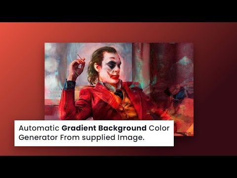 Generate Gradient Background Color Automatically Using Grade Js   CSS Javascript