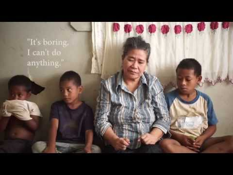 Valentina: Tongan woman's eyesight restored - sees grand-children for first time
