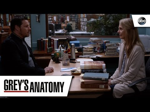 Alex Karev and his Mom  – Grey's Anatomy Season 14 Episode 22