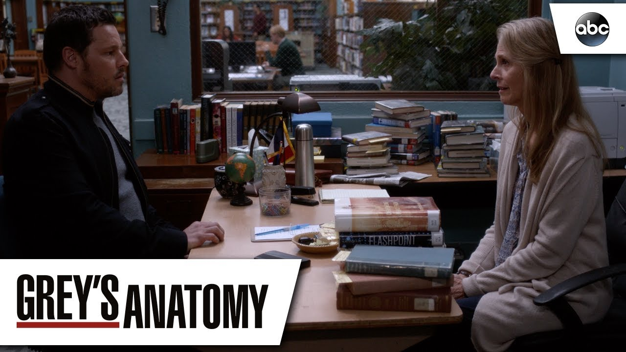 Alex Karev And His Mom Greys Anatomy Season 14 Episode 22 Youtube