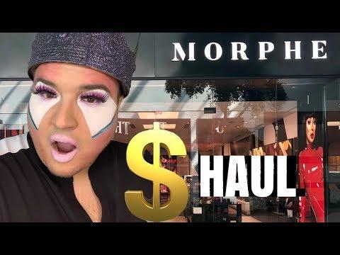MORPHE MAKEUP HAUL thumbnail