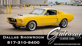 Mustang Fastback Shelby GT500CR 1967 Videos