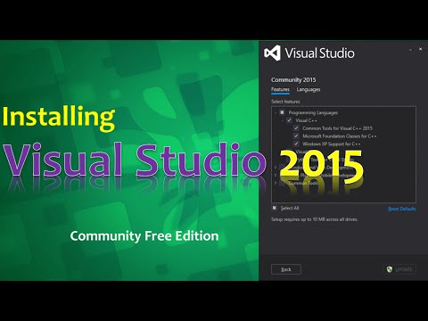 Visual Studio 2015: Installation And Setup For C/C++ Development
