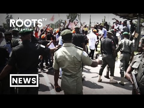 #EndSARS: Police And Protesters Clash In Abuja