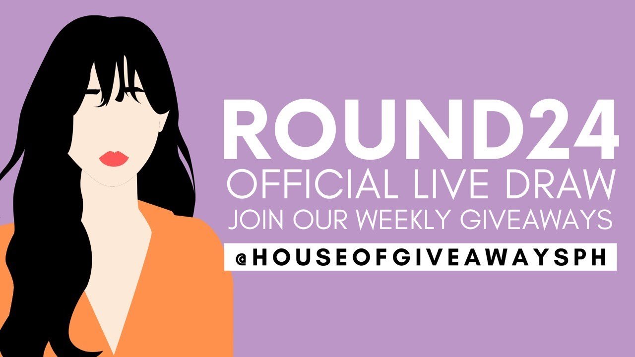 Round 24 Facebook Giveaway Live Draw | ₱5,000 plus 10 Consolation Prizes