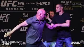 MMA Fighting Archives: Nate Diaz Beats Conor McGregor at UFC 196
