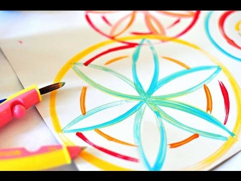 how-to-draw-flowers-using-a-compass