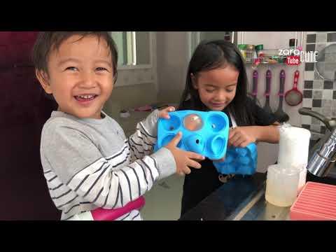 Zara Cute Inspirasi | Membuat Sabun Surprise Supaya Anak Rajin Cuci Tangan