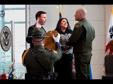 Chief of the U.S. Border Ronald D. Vitiello Patrol  Swearing In Ceremony