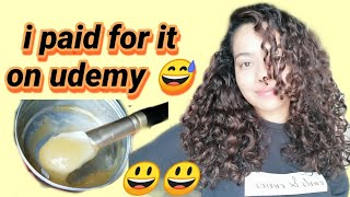 DIY Pre poo Hair mask for rough and dry hair New WOW Shampoo and conditioner review
