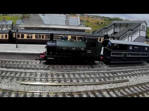 Heljan Class 1361 0-6-0ST on Hyns Haddon Railway