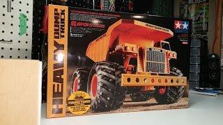 Tamiya GF-01 Heavy Dump Truck 58622 Unboxing