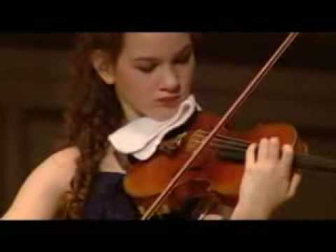 Hilary Hahn plays Ernst' s Grand Caprice on Schubert's Der Erlkönig, Op. 26