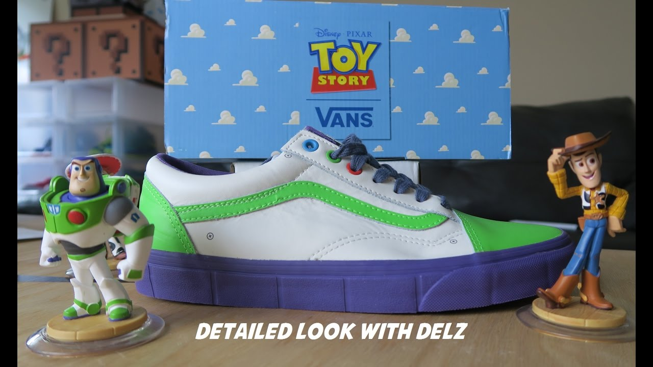 Toy Story Vans Buzz Lightyear Shoe Review Youtube