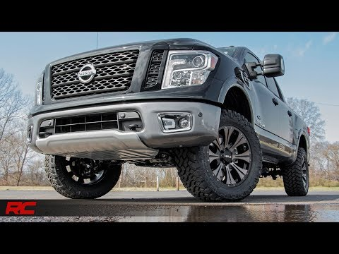 2017 Nissan Titan (Non-XD) 3-inch Bolt In Suspension Lift Kit by Rough Country